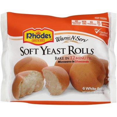Rhodes Bake-N-Serv Soft Yeast White Rolls