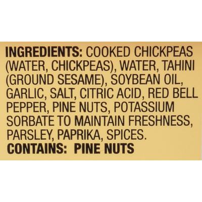 Sabra Family Size Roasted Pine Nut Hummus