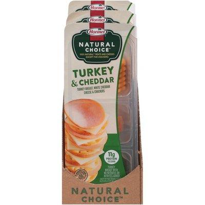 Hormel Natural Choice Turkey & Cheddar Cheese & Crackers