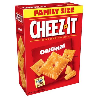 Cheez-It Baked Snack Cheese Crackers, Original