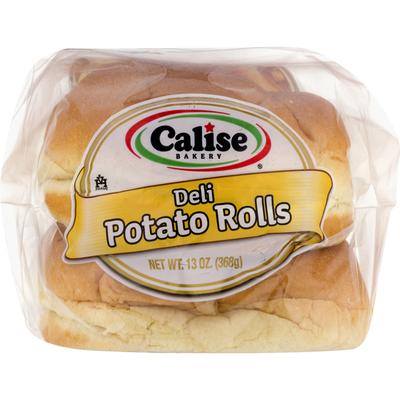 Calise Bakery Potato Rolls, Deli