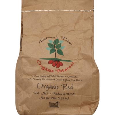 Farmers Table Potatoes, Organic Red
