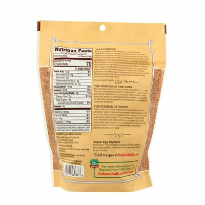 Bob's Red Mill Whole Ground Flaxseed Meal, Organic