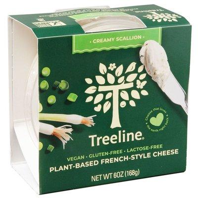 Treeline Cheese Creamy Scallion Dairy-Free French-Style Cheese - Vegan