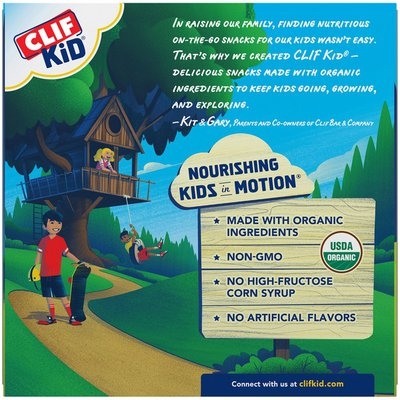CLIF Kid Organic Apple Filled with Almond & Cashew Butter