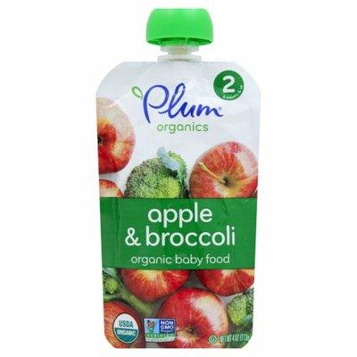 Plum Organics Broccoli & Apple Stage 2 Baby Food
