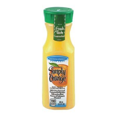 Simply Orange Orange Juice, Calcium & Vitamin D, Pulp Free