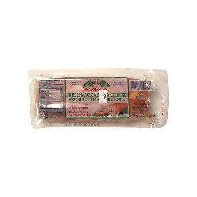 BelGioioso Fresh Mozzarella Prosciutto & Basil Roll