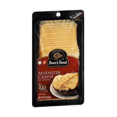 Boar's Head Cheese, Muenster, All Natural