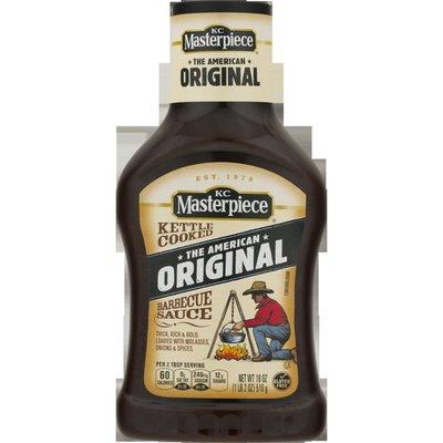 K.C. Masterpiece Barbecue Sauce, The American Original