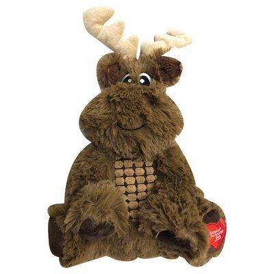 GSC Large Sitting Moose Dog Toy