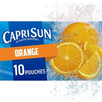 Capri Sun Orange Naturally Flavored Juice Drink Blend