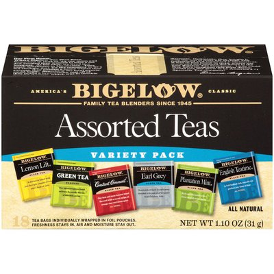 Bigelow Black and Green Teas, Assorted Collection, Tea Bags