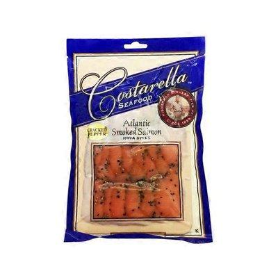 Costarella Seafood Cracked Pepper Atlantic Smoked Salmon Nova Style