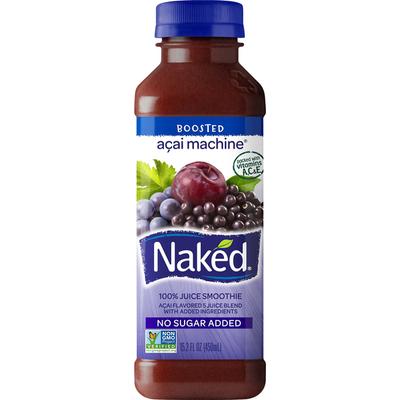 Naked 100% Juice Smoothie, Acai Machine