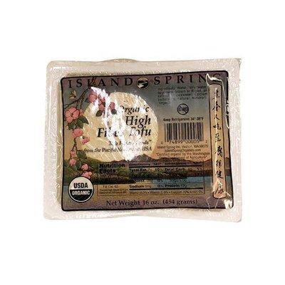 Island Springs Organic High Fiber Tofu