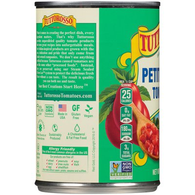Tuttorosso Tomatoes Petite Diced Tomatoes