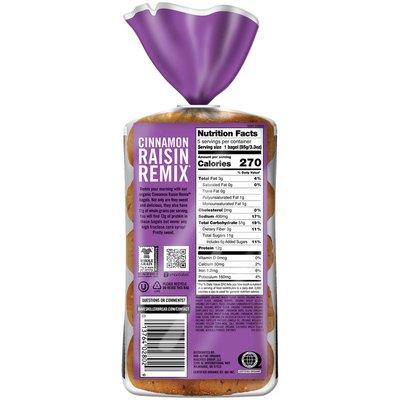 Dave's Killer Bread Cinnamon Raisin Remix Organic Bagels