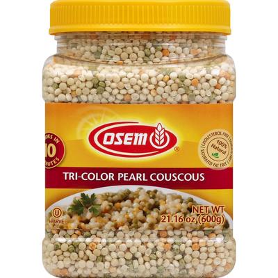 Osem Couscous, Tri-Color Pearl