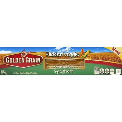 Golden Grain Spaghetti, Hidden Veggie
