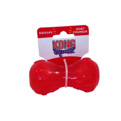 Kong Co. Squeezz Dumbbell Dog Toy