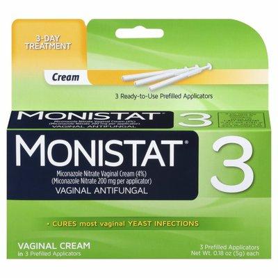 MONISTAT 3 Vaginal Antifungal Cream