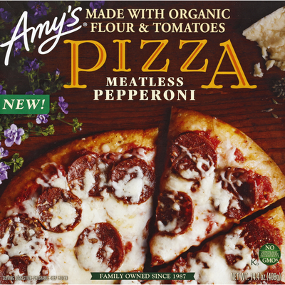 Amy's Kitchen Pizza, Meatless Pepperoni