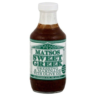 Mateo's Dressing & Marinade, Sweet Greek, with Olive Oil