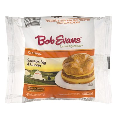 Bob Evans Farms Croissant Sausage, Egg & Cheese
