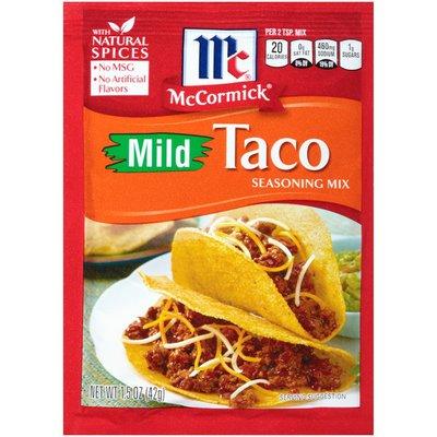 McCormick® Mild Taco Seasoning Mix