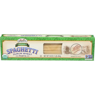 Sprouts Organic Spaghetti Pasta