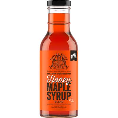 Nature Nates Maple Syrup Blend, Honey