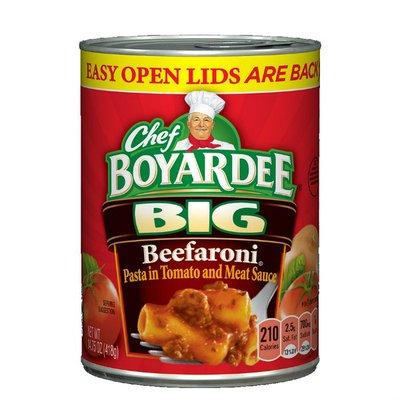 Chef Boyardee Big Beefaroni