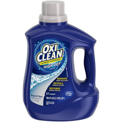Oxi Clean Liquid Laundry Detergent, Free & Clear,