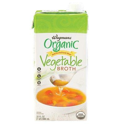 Wegmans Organic Broth, Vegetable
