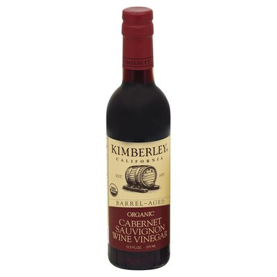 Kimberley Wine Vinegar, Organic, Cabernet Sauvignon
