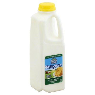Meadow Brook Buttermilk, Cultured, Lowfat, 1% Milkfat