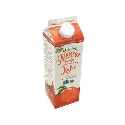 Nancy's Organic Low Fat Peach Kefir