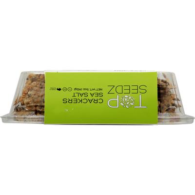 Top Seedz Crackers, Sea Salt