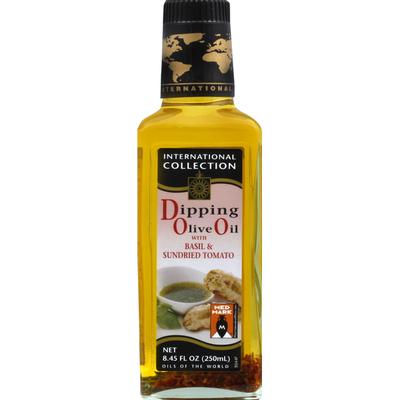 International Collection Dipping Olive Oil with Basil & Sundried Tomato