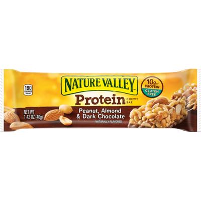 Nature Valley ™ Protein Chewy Bar Gluten Free Peanut Almond and Dark Chocolate