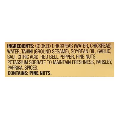 Sabra Hummus, Roasted Pine Nut