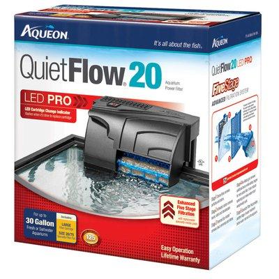 Aqueon Quiet Flow Aquarium Power Filters Quiet Flow 20