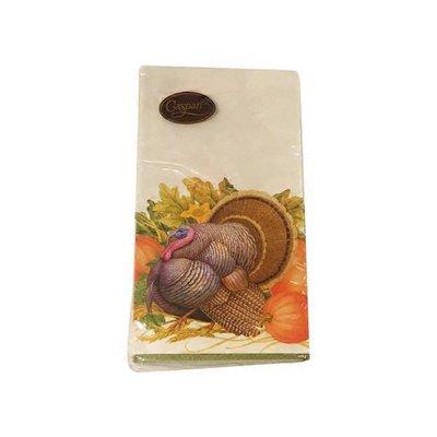 Caspari Thanksgiving Harvest Guest Towel