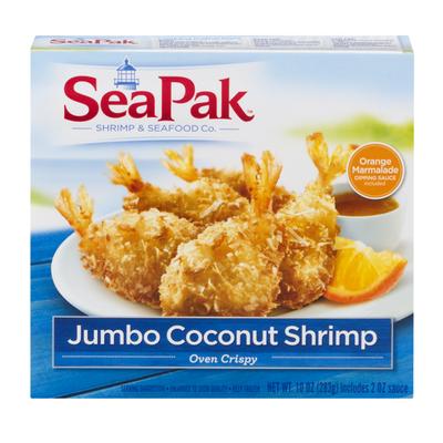 SeaPak Oven Crispy Jumbo Coconut Shrimp