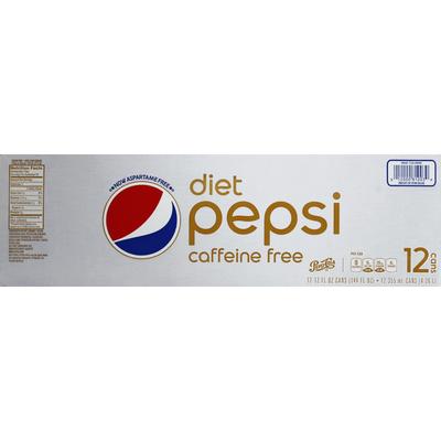 Pepsi Cola, Diet, Caffeine Free