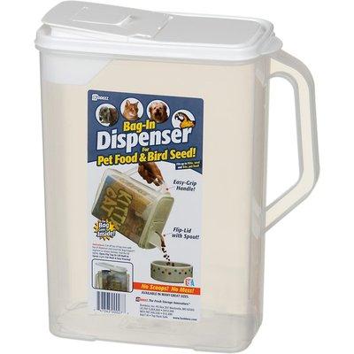 Buddeez Bag-In Dispenser for Pet Food & Bird Seed!