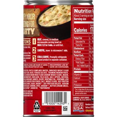 Campbell's® Chunky® Creamy Chicken & Dumplings
