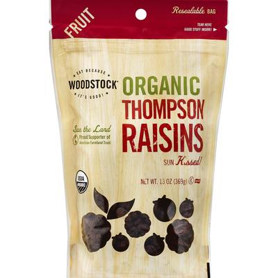WOODSTOCK Organic Unsweetened Raisins