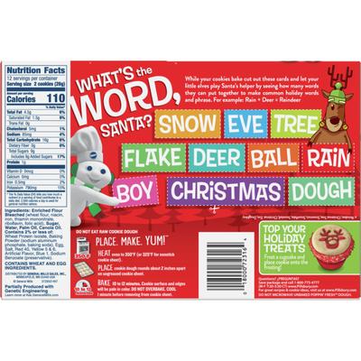 Pillsbury Ready to Bake! Reindeer Shape Sugar Cookies